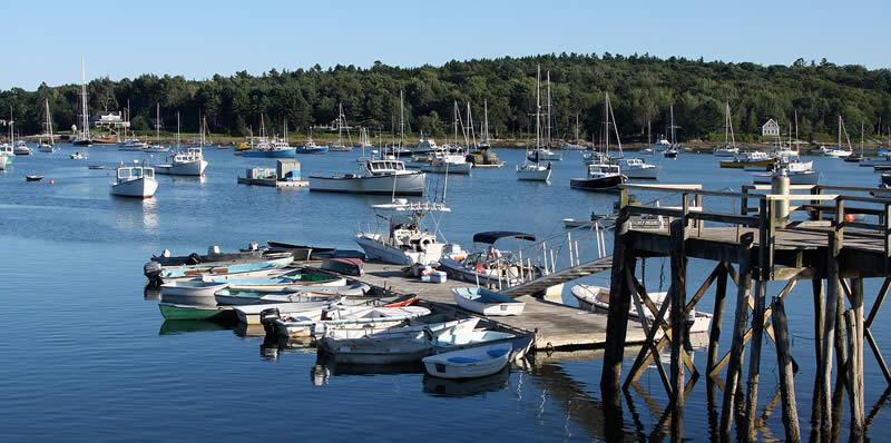 Maine Harbor View